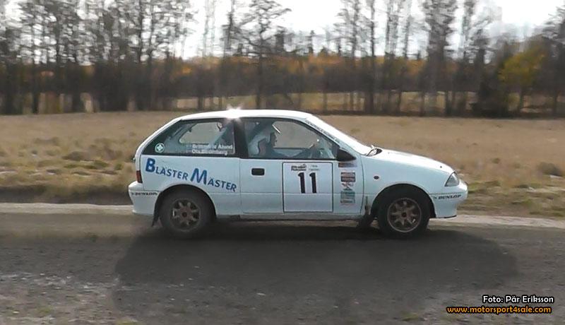 Strömberg tvåa i 1300 RallyCup