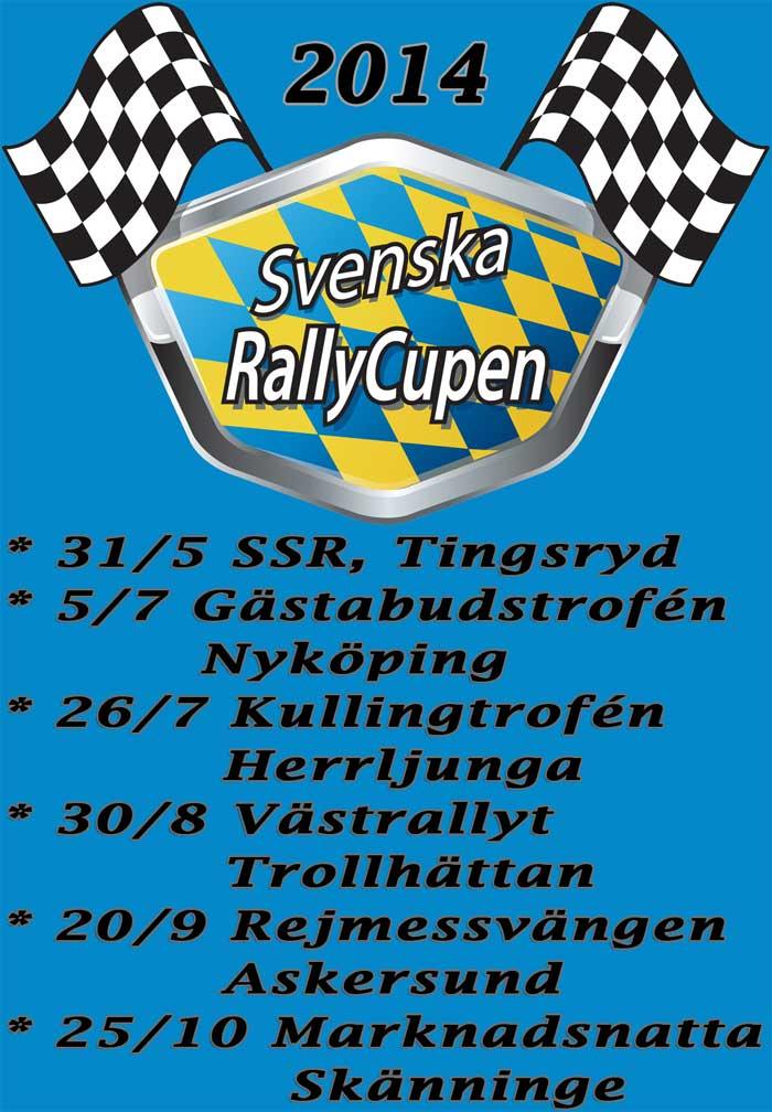 Svenska Rallycupen 2014