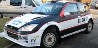 Ulf Pettersson satsar på SM-serien i nystripad WRC-Focus