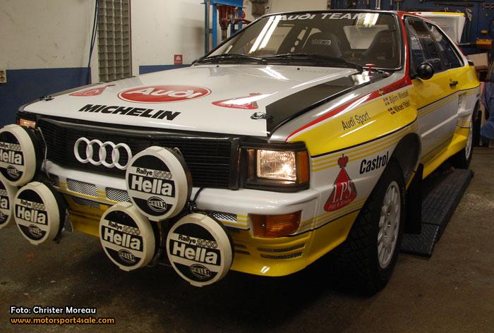 Bäckström kör Historic Rally-EM 2015 i nybyggd Quattro A2