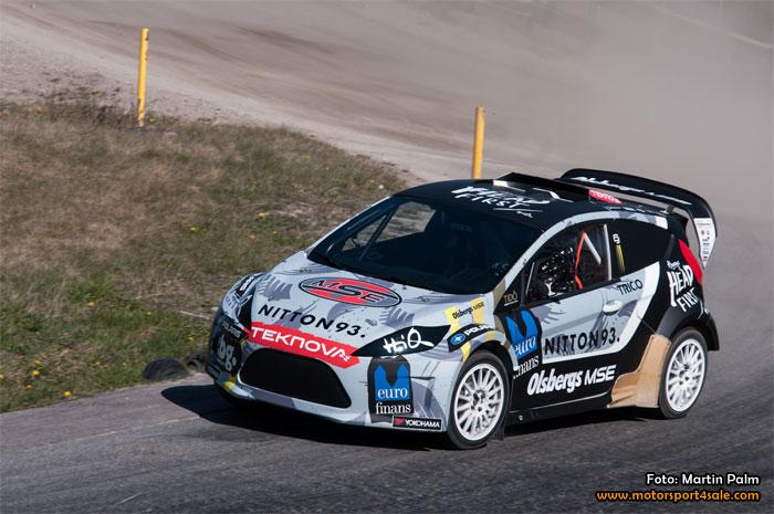 Richard laddar upp inför helgens Rallycrossdebut i Portugal!