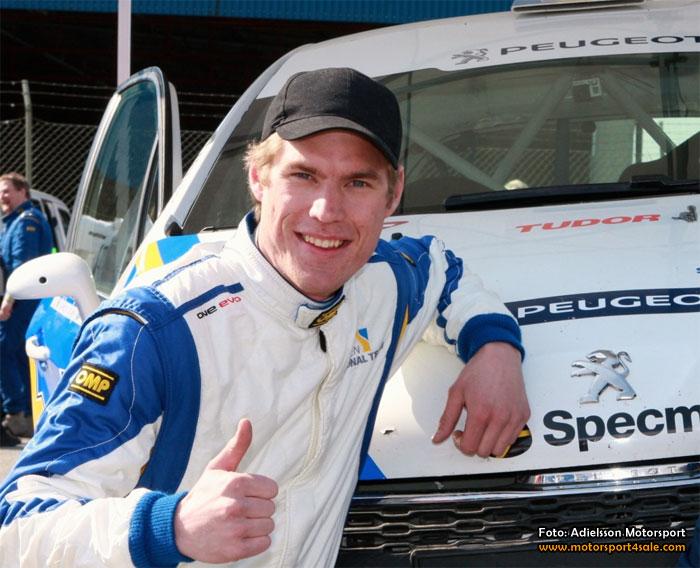 Mattias Adielsson kör franska mästerskapet i Limousin
