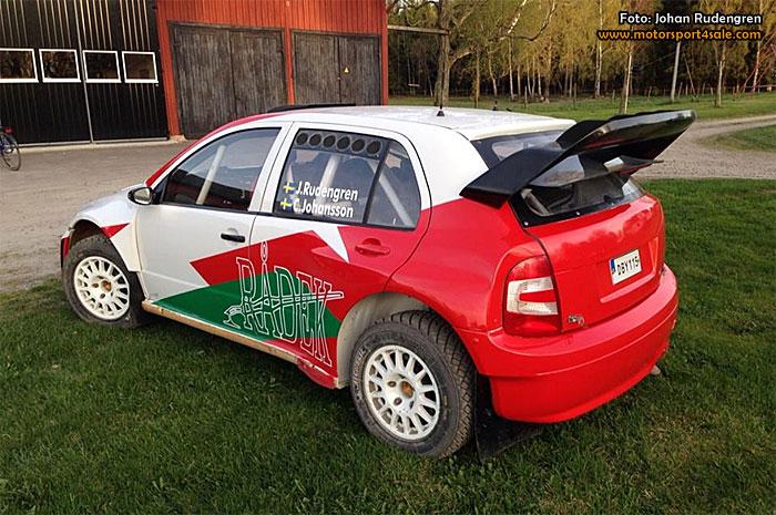 Johan Rudengrens nya racer