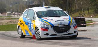 Mattias Adielsson redo för Rally-SM och Kolsvarundan i Köping