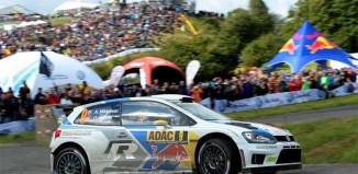 Andreas Mikkelsen räddade helgen för Volkswagen