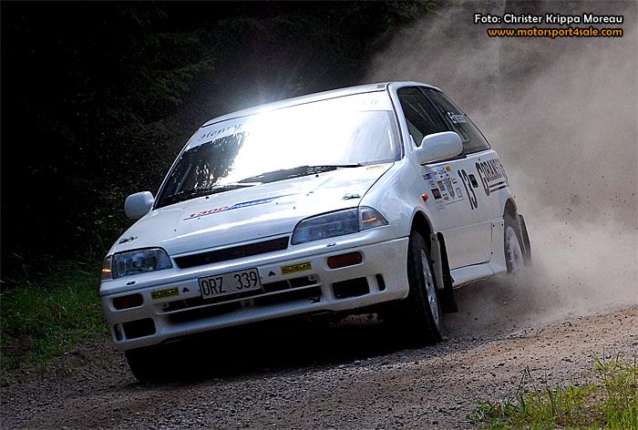 Sekunddramatik i 1300 Rallycup när Emiltrofén avgjordes