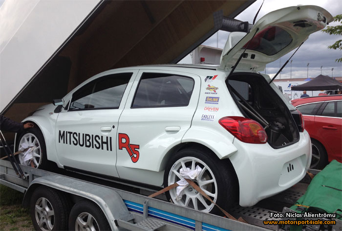 Senaste nytt om det svenska bygget av Mitsubishi R5
