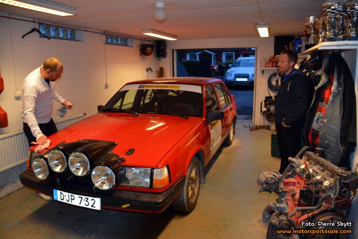 Rickard Gustafsson och Patrick Larsson