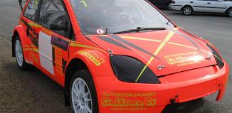 Bildannons: 140901 Rallycross Ford Touring car class