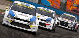 Marklund tog ledningen i Rallycross-VM