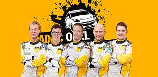 Emil Bergkvist testas inför Opel och ADAC