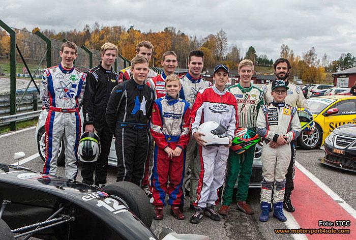 Lyckad testdag för pristagarna i Prins Carl Philips Racing Pokal