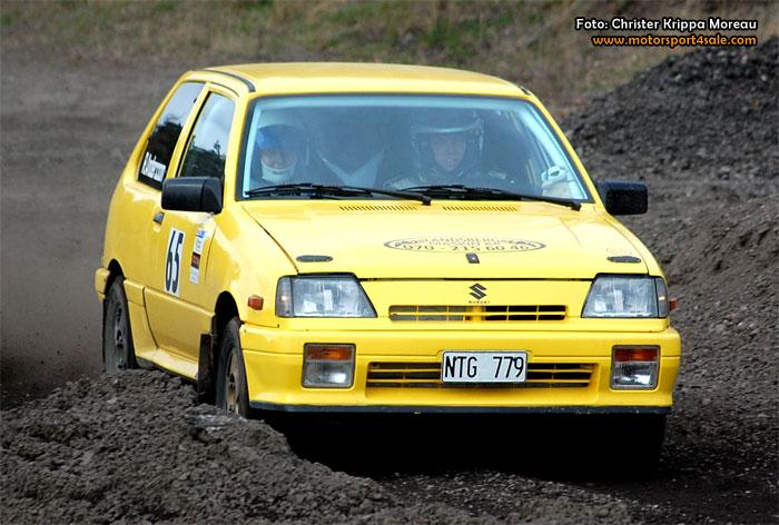 17 gör upp i finalen för 1300 Rallycup