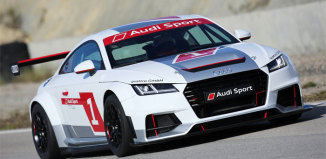 Audi startar racingserie med nya TT