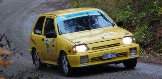 Först i mål vann 1300 Rallycup