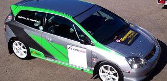 Bildannons: 141015 Honda Civic Type-R EP3 N3 Rallybil