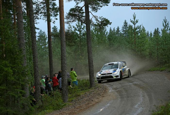 Världsmästar-teamet inför Rally Great Britain