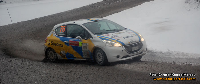Mattias Adielsson goes rally Sweden