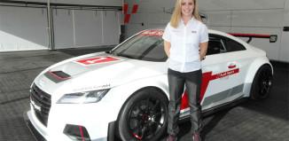 Mikaela Åhlin-Kottulinsky klar för Audi TT Cup 2015