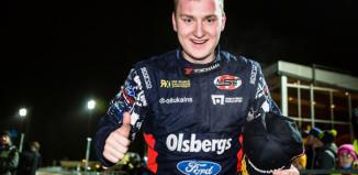 Lettländaren Reinis Nitiss segrade i RallyX On Ice på travet
