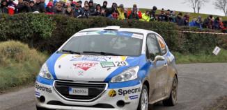 Mattias Adielsson utmanar juniorerna i Rally-SM