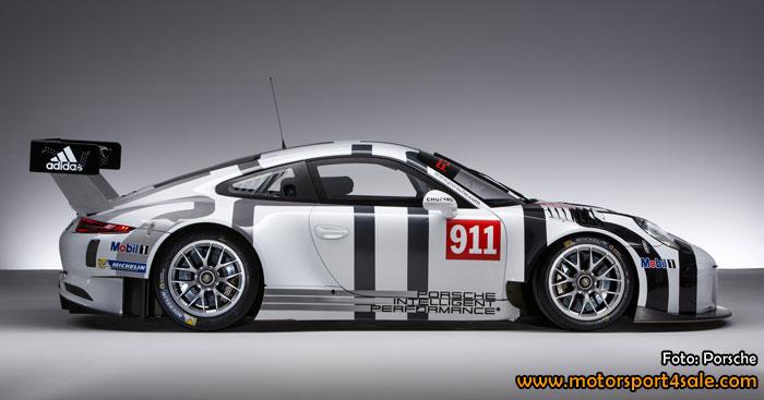 Premiär för nya Porsche 911 GT3 R