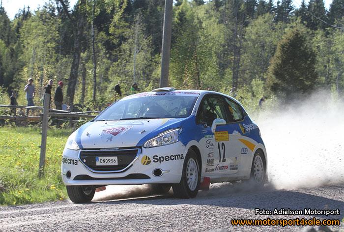 Mattias Adielsson nöjd efter South Swedish Rally