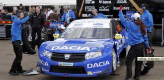 Mattias och Dacia siktar mot STCC-pallen igen