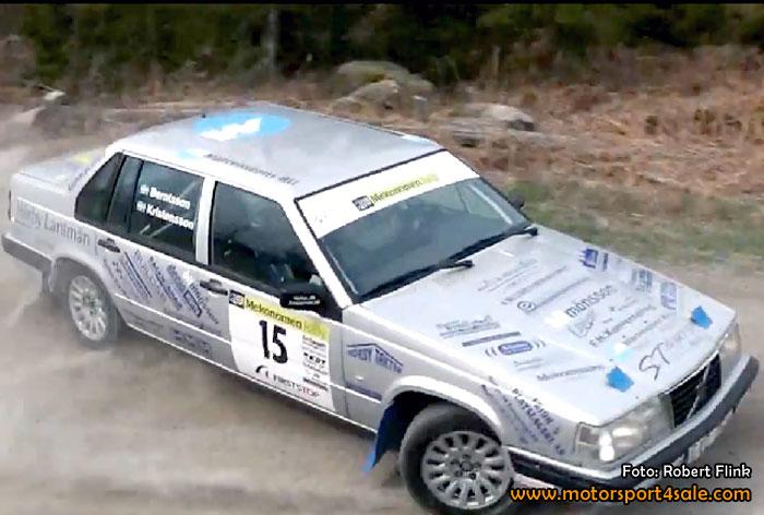 Överraskande resultat i Sydsvenska Rallycupen