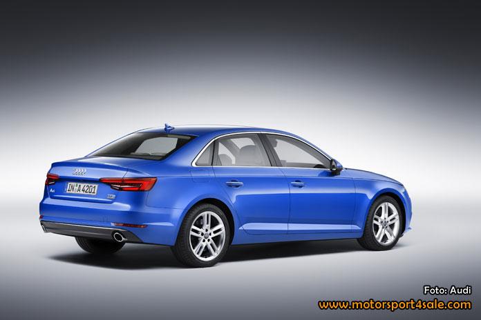 Audi presenterar ny generation av a4