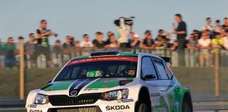 Tidemand ligger tvåa i WRC2-klassen i Polen