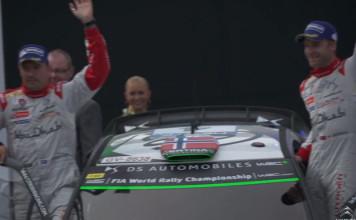 Mads och Jonas ordnade pallplats för Citroën