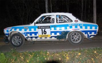 Bilder från SS1 Rally Uppsala och RM-bilarna