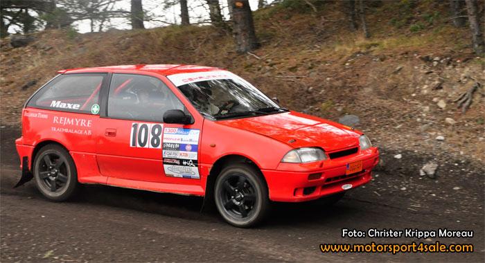 Stort startfält för 1300 Rallycup i Zabra-rallyt