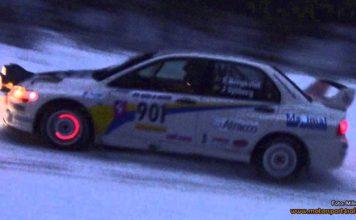 Emil Bergkvist anmäld till South Swedish Rally