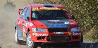 Vauxhall-föraren Mattias Adielsson kör 4wd i South Swedish Rally