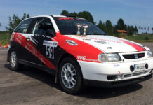 Bildannons: SEAT IBIZA Grupp-H rallybil