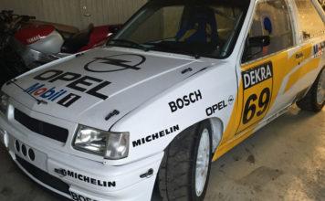 Bildannons: Opel Corsa A C20xe