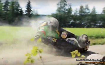 "Se Al-Rajhis spektakulära ""tak-drifting"" i Rally Finland"