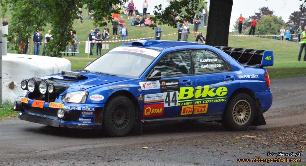 Jerker Axelsson om segern i East Sweden Rally