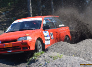 Final i Fagersta väntar för 1300 Rallycup