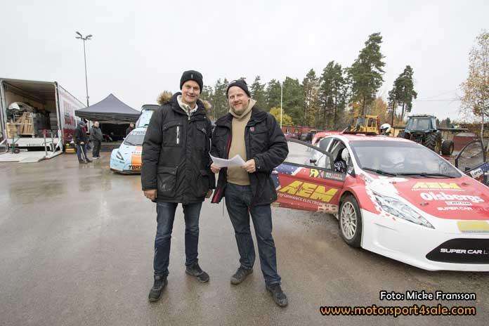 Joel Christoffersson och Andreas Eriksson