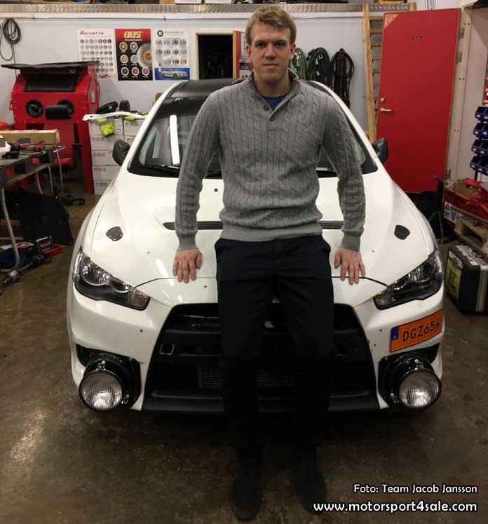 Nytt år och ny bil väntar för Jacob Jansson