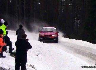 Ola Strömberg tog andra raka segern i 1300 Rallycup