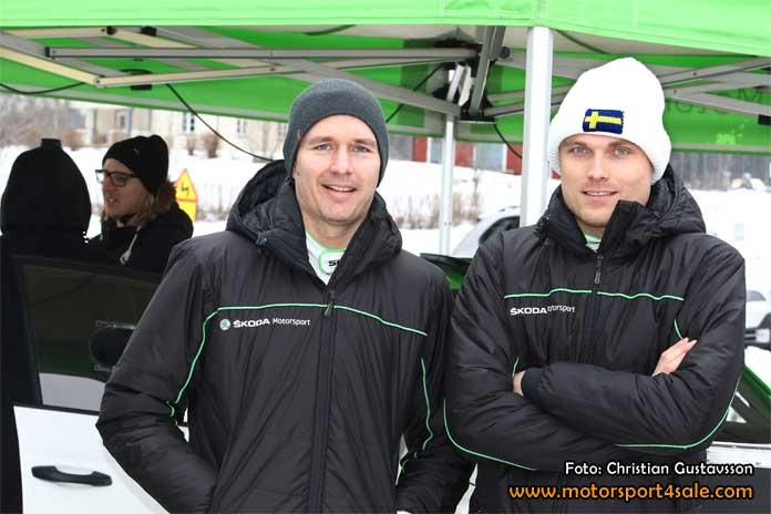 Jonas Anderson och Pontus Tidemand