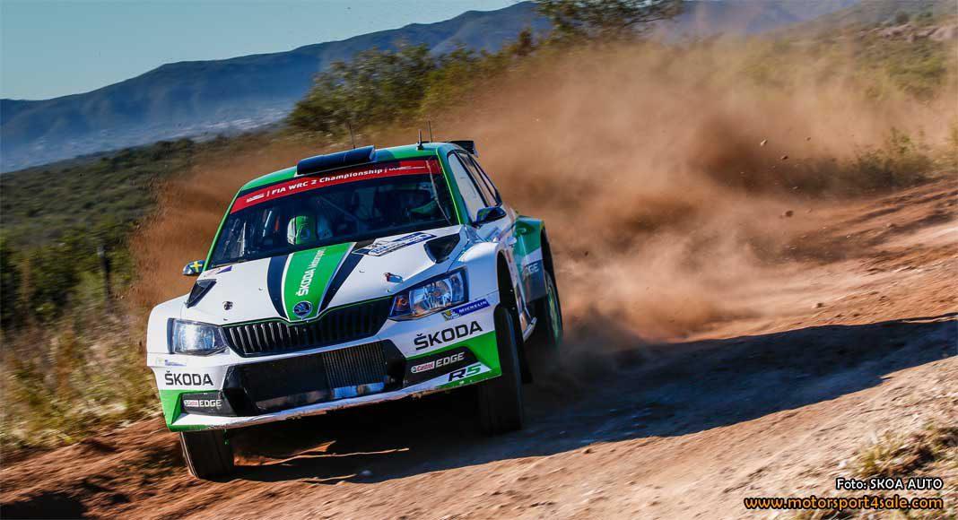 Pontus Tidemand leder Rally Argentina