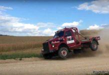 Rally med lastbil