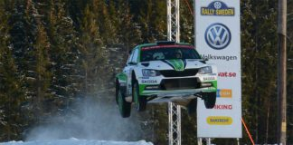 Pontus Tidemand vinner Rally Sweden WRC2