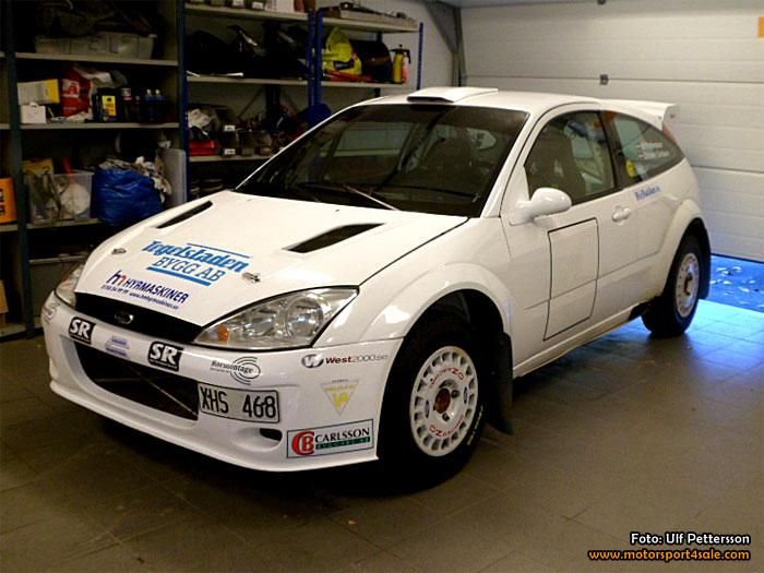 Ulf Pettersson Katrineholms MK Ford WRC Focus