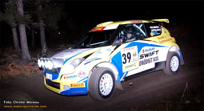 Det gick vägen för Holmberg Motorsport i SM-finalen.